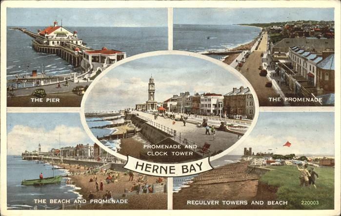 Herne Bay The Promenade The Pier The beach / City of Canterbury /