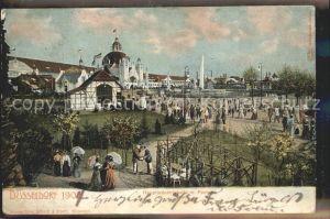 Ausstellung Industrie Gewerbe Kunst Duesseldorf 1902  Hauptindustriehalle Fontaine Kat. Duesseldorf