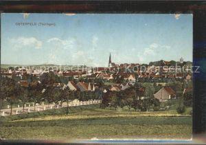 Osterfeld Thueringen Panorama Kat. Osterfeld Naumburg