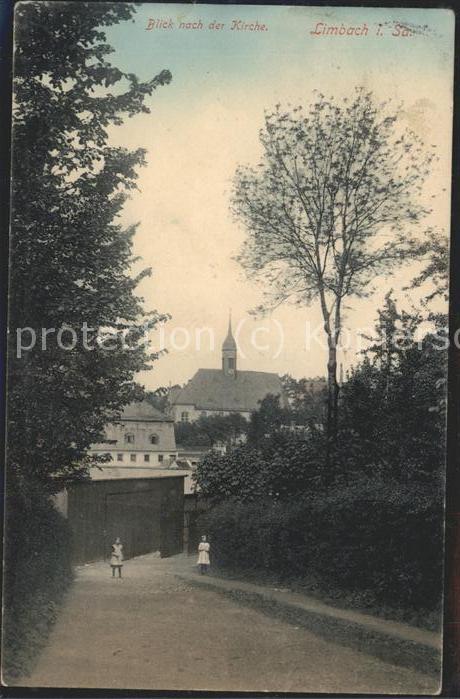 41470343 Limbach Sachsen Blick zur Kirche Limbach-Oberfrohna Limbach_Sachsen