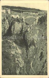 Constantine Pont d El Kantara et Chemin des Touristes Kat. Algerien