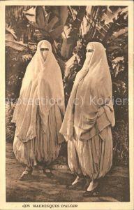 Alger Algerien Femmes Mauresques Scenes et Types / Algier Algerien /
