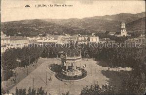 Blida Algerien Place d Armes Pavillon Kat. Algerien
