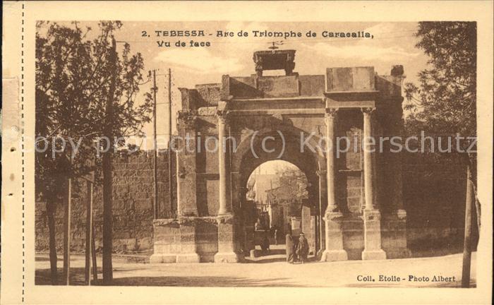 Tebessa Arc de Triomphe de Caracalla Kat. Algerien