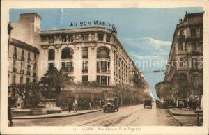 Alger Algerien Rue d'Isly et Rue Bugeaud / Algier Algerien /