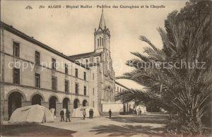 Alger Algerien Hopital Maillot Pavillon des Contagieux et la Chapelle / Algier Algerien /