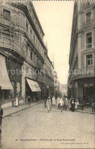 Constantine Entree de la Rue Nationale Kat. Algerien