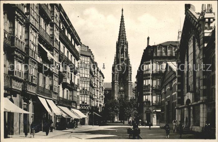 San Sebastian Guipuzcoa Calle de San Ignacio de Loyola / Donostia-San Sebastian /Guipuzcoa