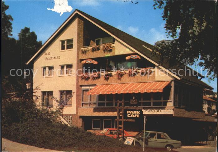 Wuennenberg Park Cafe Haus Rabenskamp Kat Bad Wuennenberg Nr
