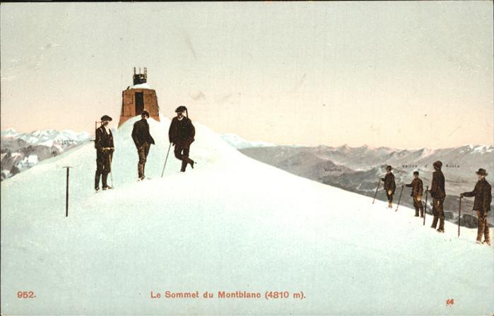 Montblanc Sommet Kat. Montblanc