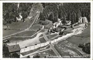 St Luzisteig Maienfeld Flugaufnahme Feldpost