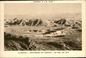 Algerien Biskra Col de Sfa