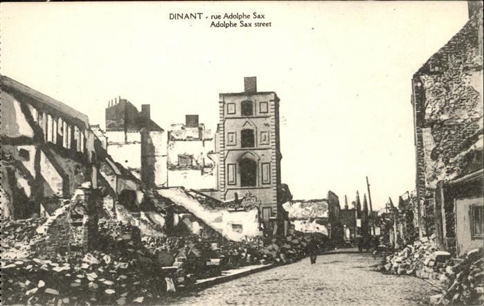 Dinant Namur Rue Adolphe Sax Kat.