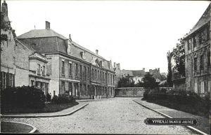 Ypres Palais de Justice Kat.