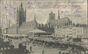 Ypres Place un jour de marche Kutschen Kat.