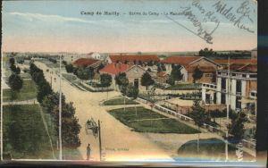 Camp de Mailly Entree du camp Kat. Frankreich