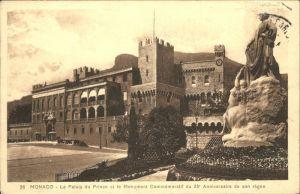Monaco Le Palais du Prince et le Monument Commemoratif Kat. Monaco