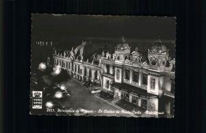kk31867 Monte-Carlo Casino bei Nacht Kategorie. Monte-Carlo Alte Ansichtskarten