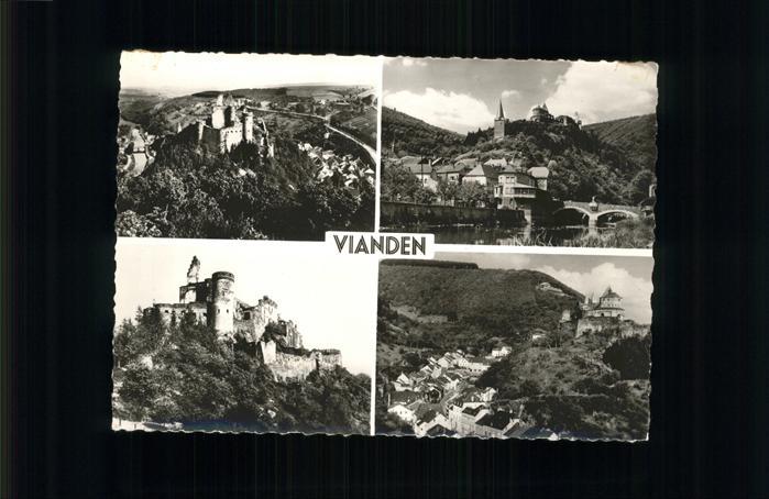 Vianden Panorama Schloss