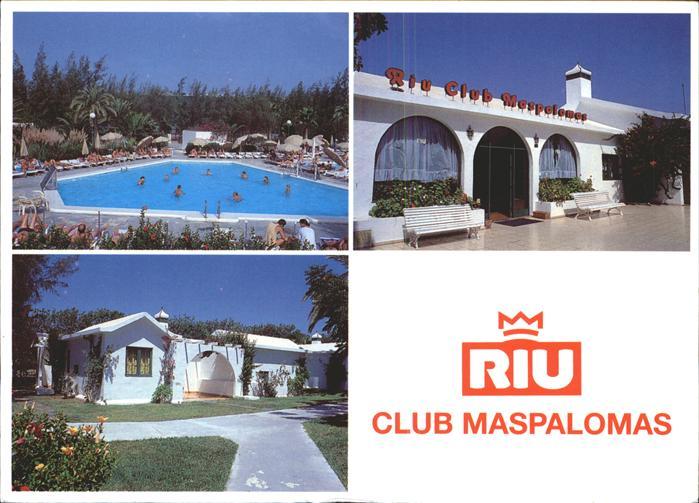 Maspalomas Bungalows Rui Club Swimming Pool Kat. Spanien