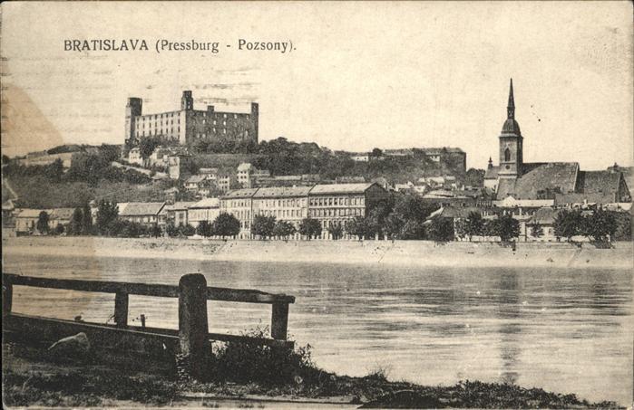 Bratislava Pressburg  / Polen /Polen