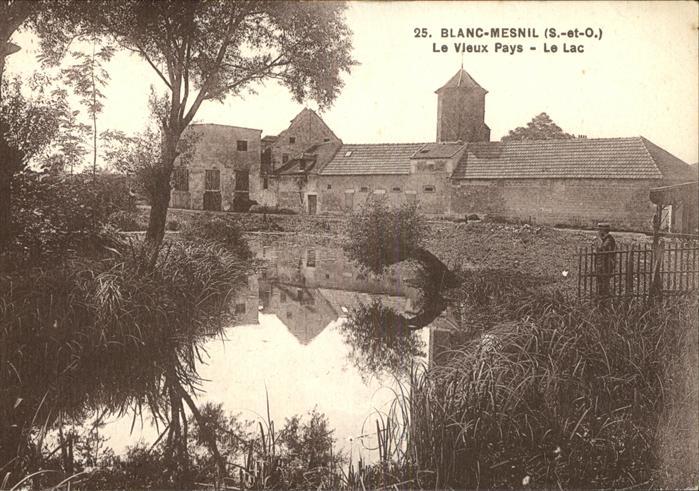Blanc-Mesnil Seine Saint Denis Le le Lac / Le Blanc-Mesnil /Arrond. du Raincy