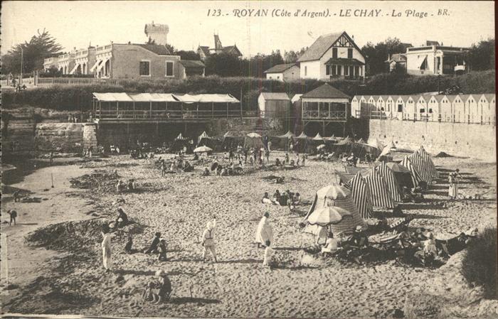 Royan Charente Maritime Le Chay Plage Kat. Poitiers Charentes