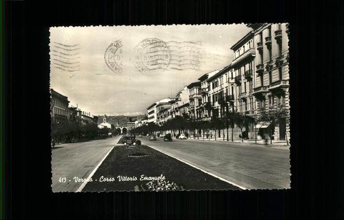 Verona Italia Corso Vittorio Emanuele Kat.