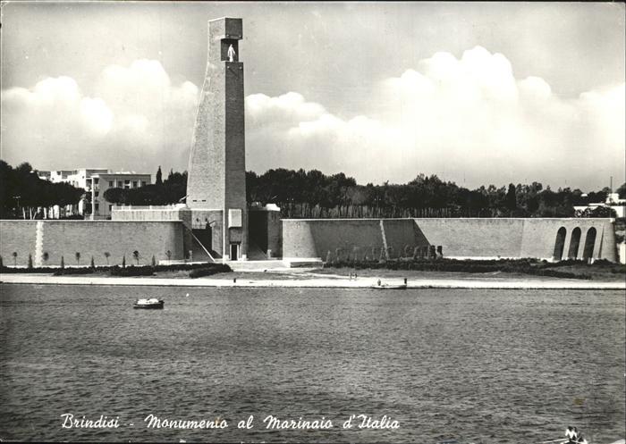 Brindisi Monumento al Marinaio d Italia Kat. Apulien