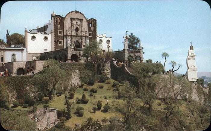 Villa de Guadalupe Vista panoramica del Cerrito con el Santuario