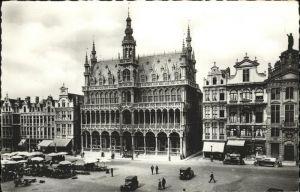 Bruessel Bruxelles Grand Place Maison du Roi Kat.