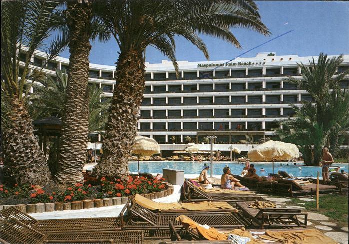 Maspalomas Hotel Palm Beach Piscina Kat. Gran Canaria Spanien
