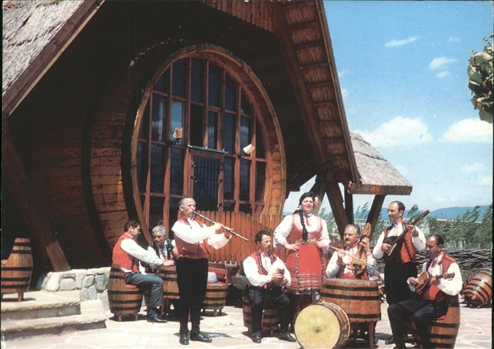 e82ea360854a6 Slantschev Brjag Restaurant Batschwata Tracht Musiker   Bulgarien ...