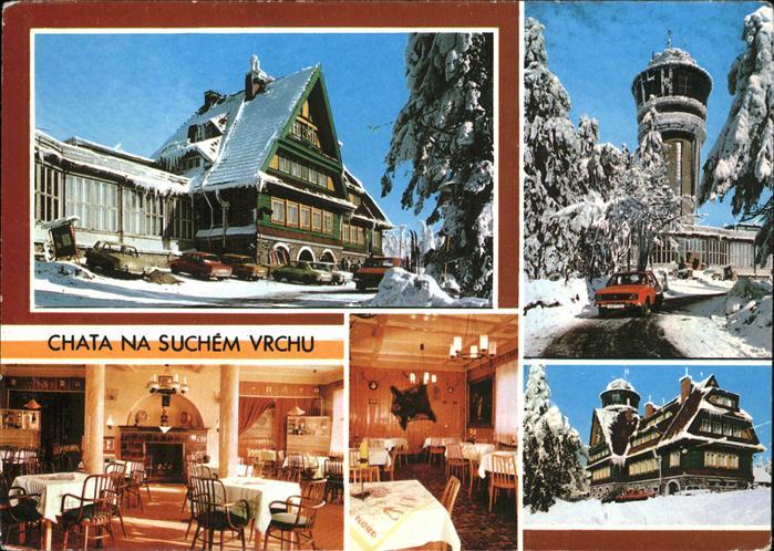 Orlicke Hory Horska chata na Suchem vrchu Kat. Tschechische Republik