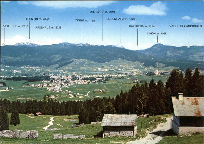 Asiago Vicenza Cime Storiche Guerra