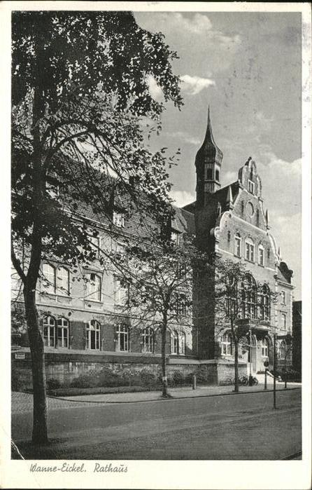Wanne Eickel Rathaus Kat. Herne