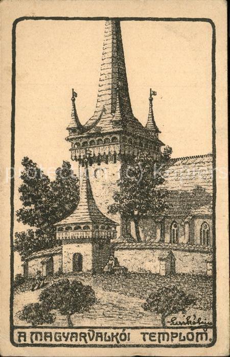 Ungarn Templon Kat. Ungarn