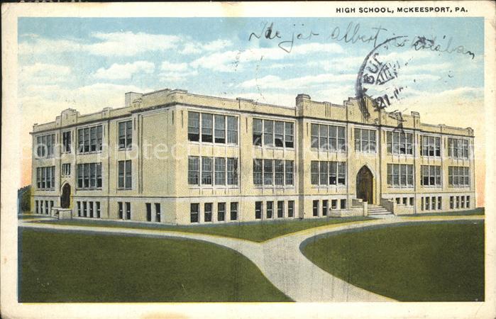 Mckeesport Pa High School