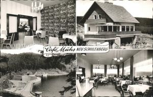 Neu Schulenberg Cafe Muhs / Schulenberg Oberharz /Goslar LKR