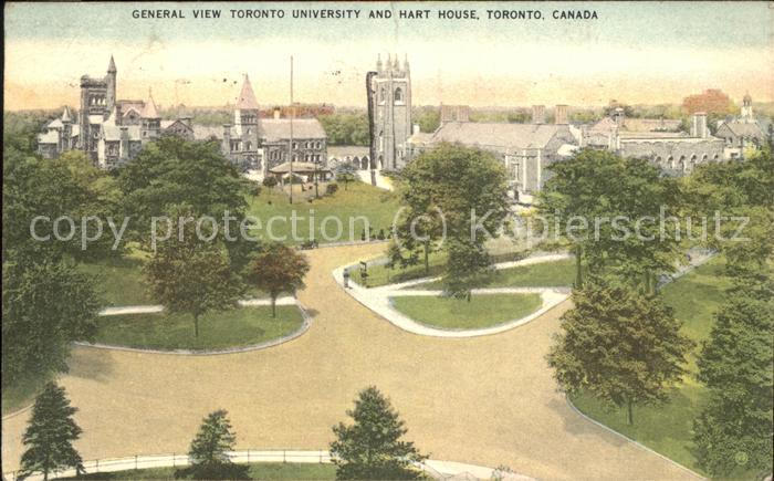 Toronto Canada General View Toronto University and Hart House Kat. Ontario