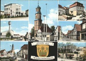 Niederrodenbach Rathaus Kath. Kirche Ev. Kirche