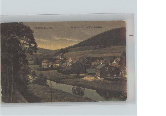 Burgholz Staatsforst Bergisches Land Panorama Kohlfurterbruecke