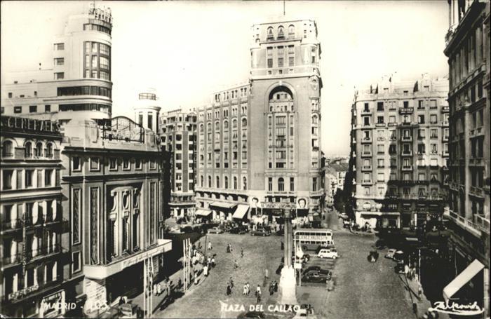 Madrid Spain Plaza Callao / Madrid /