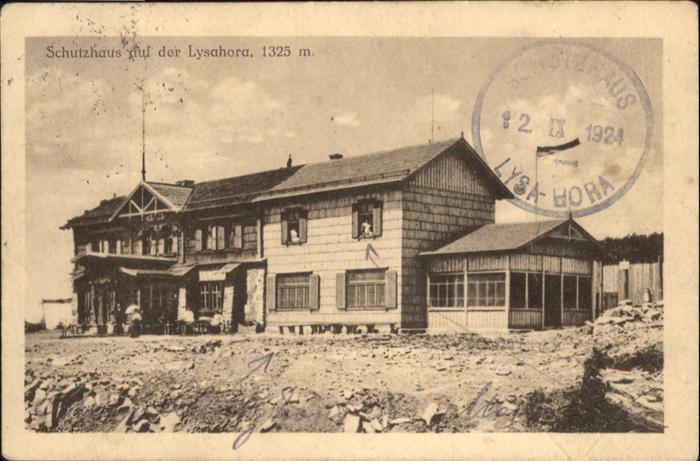 Lysa Hora Schutzhaus / Tschechische Republik /