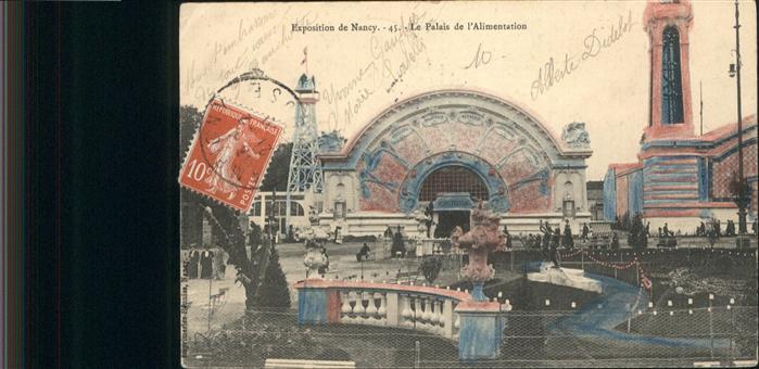 Nancy Lothringen Exposition Palais de l `Alimentation / Nancy /Arrond. de Nancy