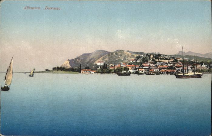 Durazzo Schiff / Albanien /