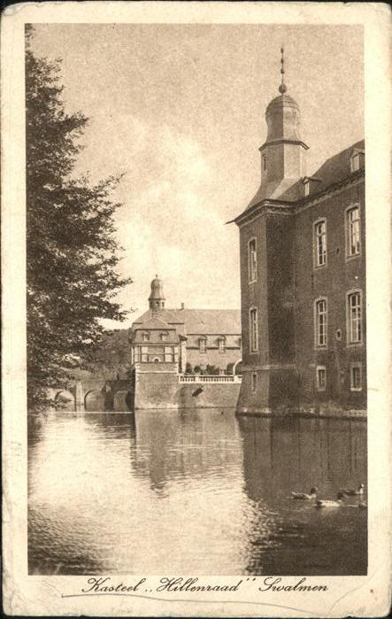 Swalmen Kasteel Hillenraad / Niederlande /