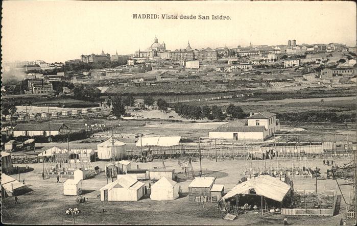 Madrid Spain Visda desde San Isidro / Madrid /