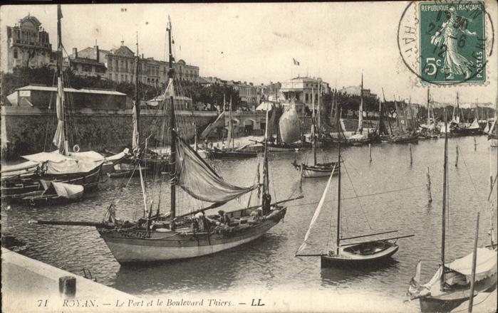 Royan Charente-Maritime Port Boulevard Thiers / Poitiers-Charentes /Arrond. de Poitiers