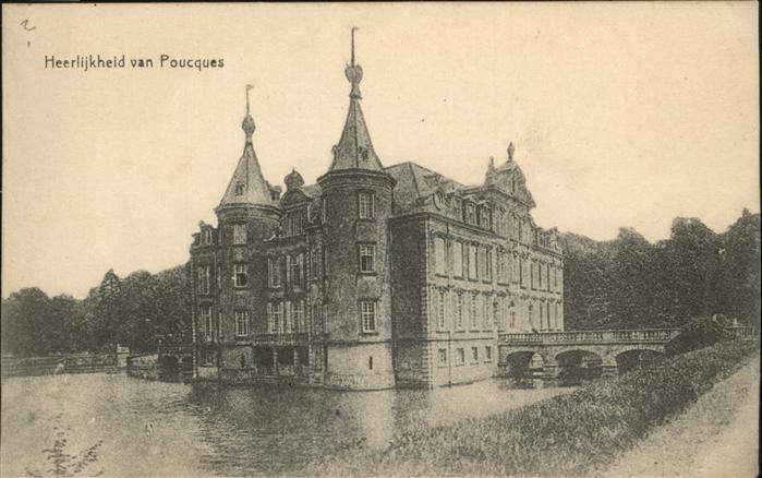 van Poucques Heerlijkheid van Poucques / Belgien /